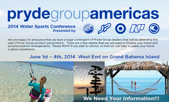 Pryde Group Water Sports Conference to Be Held at Old Bahama Bay, June 1-4