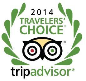 TripAdvisor Travelers' Choice Award 2014